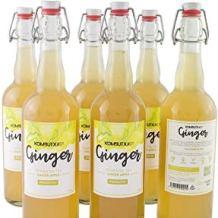 bebidas de jengibre