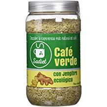 cafe verde con jengibre