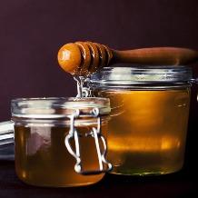 envuelto jengibre miel